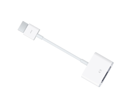 Accesorios Mac. Adaptador hd mi a dvi Apple